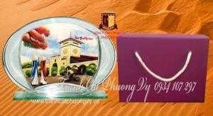 Quà tặng lưu niệm cao cấp tại TPHCM - Tranh cát - Souvenir