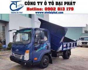 Bán xe ben tera 250, xe ben teraco 2 tấn đỗ dọc và đổ ngang