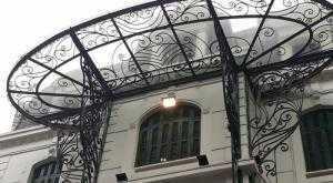 Lan can, cầu thang, mái tôn, thi công nhà xưởng
