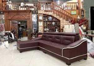 Sofa phòng khách tông màu nâu đẹp thanh lịch - xưởng sản xuất sofa giá rẻ