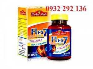 FLEX7  giúp giảm đau nhức khớp, ngăn ngừa thoái hóa sụn khớp