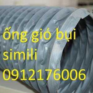 Ống hút bụi vải bạt simili màu ghi, giá tốt nhất tại Hà Nội