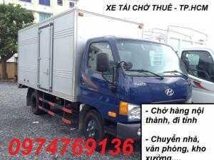 Xe tải chở thuê An Sương Chuyển nhà giá rẻ