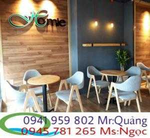 Các mẫu bàn ghế cafe thông dụng nhất