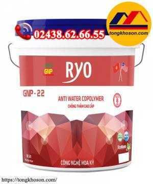 Sơn chống thấm pha xi măng Ryo thùng 18 lít chiết khấu 40%