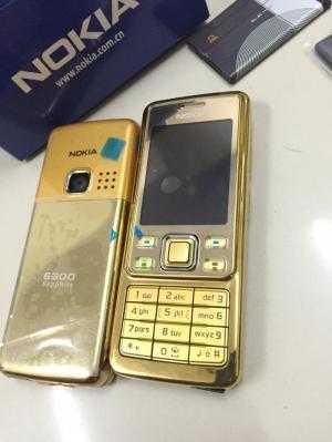 Điện thoại Nokia 6300 màu vàng main zin kèm phụ kiện