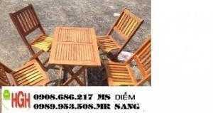 Ghế gỗ cafe hgh2