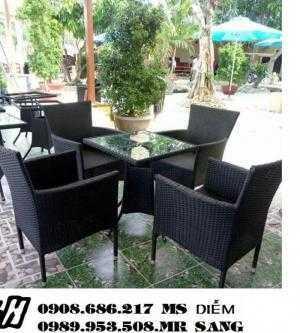 Bàn ghế cafe sân vườn hgh9