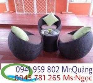 Bàn ghế cafe giá rẻ nhất NQ01