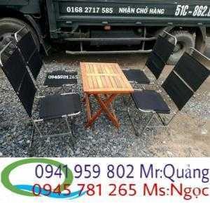 Thanh lý gấp 20 bộ bàn ghế cafe xếp giá tốt...