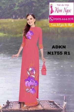 Vải áo dài in 3D ADKN N1755