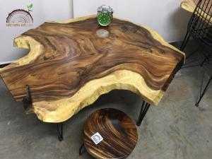 Bàn trà gỗ nguyên tấm