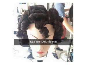 Đầu manocanh tóc thật 100%