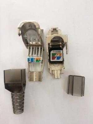Chuyên Phân phối đầu bấm hạt mạng Sắt chống nhiễu Cat6A/Cat7 có sẵn hàng tại Annam