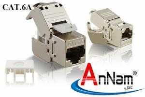 Chuyên Phân phối và cung cấp cho dự án xây dựng nhân mạng RJ45 Chống nhiễu AMP