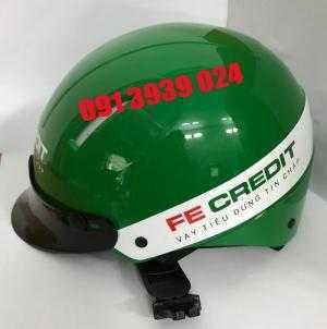 Sản xuất mũ bảo hiểm chuyên nghiệp , mũ bảo hiểm in logo công ty TP HCM
