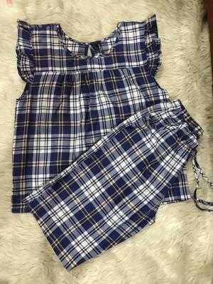 Đồ Bộ lửng  VNXK vải cotton  01