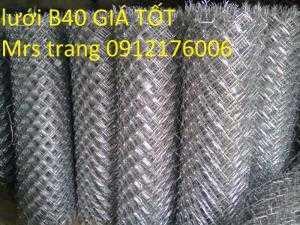 Lưới B40 bọc nhựa giá tốt nhất hà nội