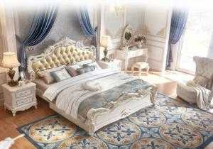 Giường ngủ cổ điển | bộ giường tân cổ điển phong cách Châu Âu đẹp giá rẻ tại xưởng