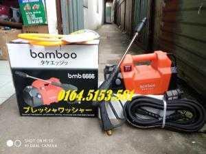 Máy rửa xe gia đình 1800w Bamboo BmB 6666 dùng 20 năm chưa hư hỏng