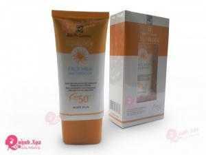 Kem Chống Nắng bảo vệ da khi tiếp xúc với ánh nắng mặt trời