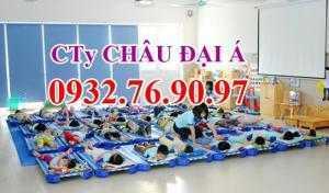 Giường ngủ cho các bé mầm non - Hàng nhập...
