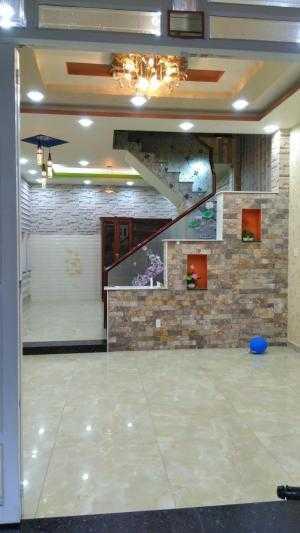 Bán nhà mới đẹp hxh đường Hòa Bình, 5.2x14m, dtxd: 47.6 m2, dts: 198.8 m2, 2 lầu+st, 4pn