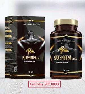 SUMAN GOLD tăng cường sinh lý nam, tăng cường thể lực, hạ men gan