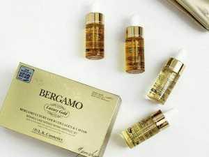 Serum BERGAMO LUXURY GOLD 24K hàn quốc