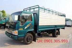 Xe tải chiến thắng 3.5 tấn. Bán xe tải chiến thắng 3.5 tấn thùng mui bạt dài 5m1 .
