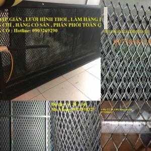 Lưới dập giãn XG-9,XG-10,XG-11,XG-12,XG-13,XG-14 , Lưới kéo giãn dạng tấm/ cuộn