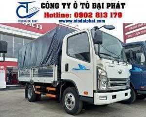 Xe tải teraco tera 240 mui bạt,hỗ trợ vay vốn mua xe trả góp 80%