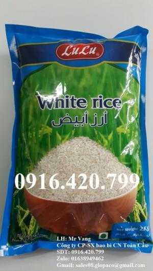 Túi đựng gạo sạch 1kg,2kg,5kg,10kg giá tốt
