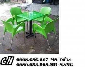 Ghế gỗ quán nhậu giá rẻ nhất nn3