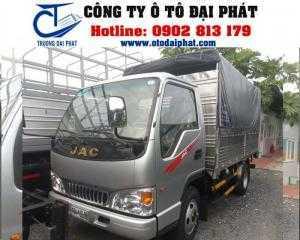 Xe tải jac 2.4 tấn HFC1030k4 chạy trong thành phố,hỗ trợ vay vốn mua xe trả góp 80%