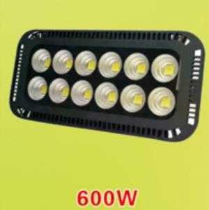 Đèn pha led chiếu sâu 600W – Đèn chiếu sân bóng – đèn chiếu sân vận động