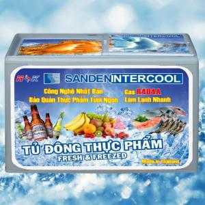 Tủ đông thực phẩm Thái Lan Sanden Intercool 400 lít