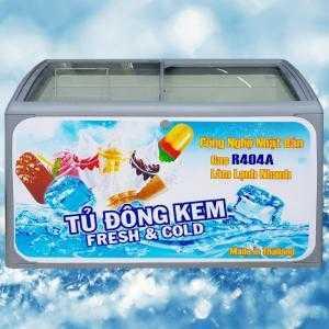 Tủ đông kem Thái Lan Sanden Intercool 400 lít