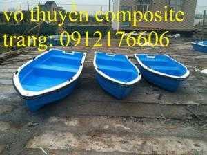 Thuyền nhựa composite 4,5m x 1,3m x 0,5m tại si gòn