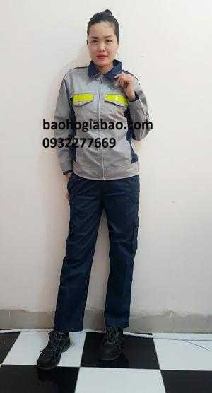 Quần áo bảo hộ lao động phối màu giá rẻ  tại bảo hộ gia bảo