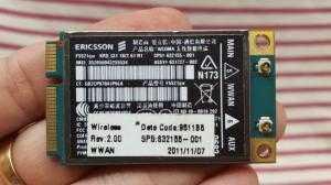 Card wwan 3G Ericsson F5521GW (HP HS2340) dùng cho HP 2560p,8460p,8560p,8760w