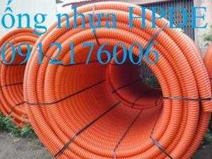 Chuyên phân phối ống nhựa gân xoắn HDPE luồn dây điện, dây cáp phi 230/175