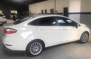 Bán Fiesta 2016 màu trắng, xe cá nhân, Odo...