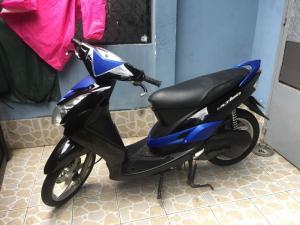 Xe Mio Utimo . yamaha chính hãng. BSTP. màu đen xanh