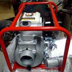 Giảm giá Máy bơm nước khung chạy xăng ống 80