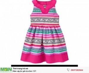 Đầm váy bé gái size 6m> 12T