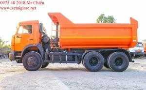 Xe Ben Kamaz 65115 (6x4) Thùng Oval 10  Khối Giá Rẻ Nhất Thị Trừơng