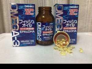 Viên uống bổ mắt omega3 orihiro