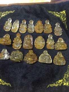 Mặt Phật Di Lặc cười Phong thủy tài lộc bình an mặt đá ngọc thiên nhiên