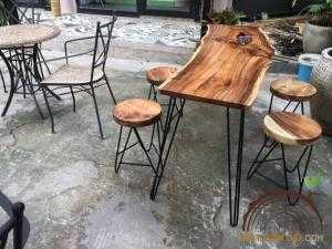 Ghế mặt gỗ